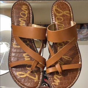 Sam Edelman flat sandals 8.5 EUC